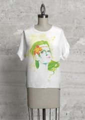 Gorgeous Nature Girl Top available on VIDA - Artprint by Buttafly ( Vanessa Brünsing )