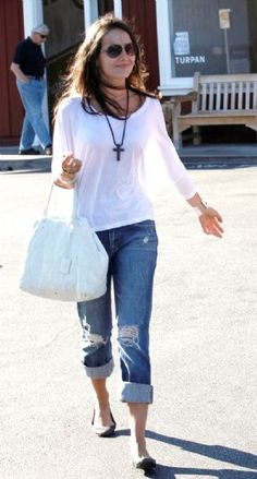 Camilla Belle. The cross accessory made it for me.