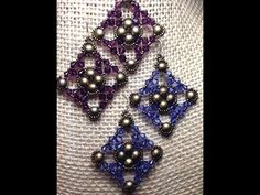 Burnished Lace Earrings