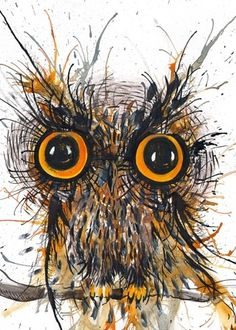 'Wide-eyed Owl' by Faisal Khouja