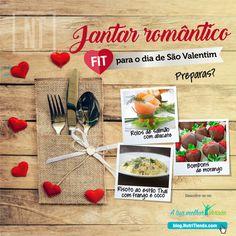 Vem aí o dia de São Valentim. Já sabem como surpreender à vossa cara-metade? Aqui deixamos uma ideia de menu para um dos jantares mais românticos do ano