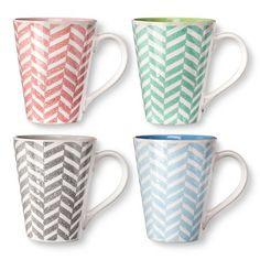 BIA Cordon Bleu Lola Mugs Set of 4 (14 oz) : Target