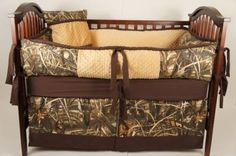 Bradyn's Camo baby bedding