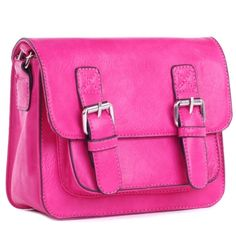 Fluo Fukscia Oxford - Everyday Handbags - Handbags - FLEQ.PL