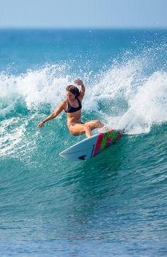 Steffi Kerson   #surfing http://www.blueprinteyewear.com/