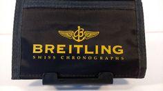 BREITLING Wallet Nylon Velcro Black Yellow  #Breitling #Trifold