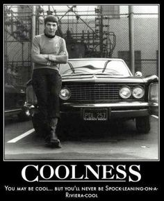 Cool Spock is cool