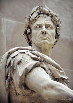 Julius Caesar | Nicolas Coustou, Musée du Louvre, Paris | antonio-m. | Flickr