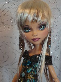 ~ Prudance ~ OOAK Monster High Cleo Repaint Doll ~ by Bordello ~