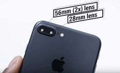 Both of them have 12 Mega Pixel camera with amazingly responsive new sensors.Optical Image stabilization on both the models.Camera's of both the model captures colors more effectively,as both have wide gamut colors.The Iphone 7 Plus has additional camera which has optical zoom.It increase the quality of your image clicked in zoom option.
