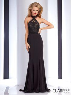 Black Halter Pageant Dresses