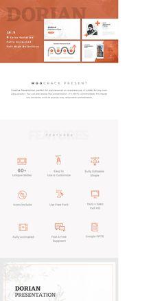 """Check out my @Behance project: """"Dorian Creative GoogleSlides Template"""" https://www.behance.net/gallery/59707281/Dorian-Creative-GoogleSlides-Template"""