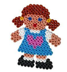 Bambina con perline Maxi
