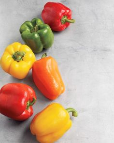 Bell Pepper Basics and other seasonal produce recipe guide