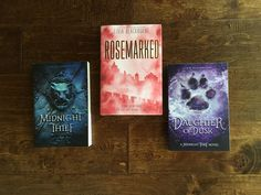 Win signed copies of Rosemarked, Midnight Thief, and Daughter of Dusk!