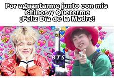 Hoy es 16/05/2018 y no es el dia de las madres pero...TA' BUENO EL MEME Bts Memes, Vkook Memes, Hoseok Bts, Jimin, Bts And Exo, Fake Love, Jikook, Bts Wallpaper, My Boys