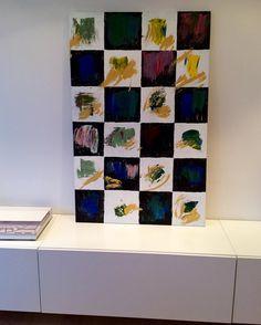 """Squares"" ""Firkanter"" Copyright by www.anne-mette.com  #copyright #www.anne-mette.com #maleri #danishartist #painting #forsale #copenhagenartist #artgallery #email #emailtoorder #kunst@anne-mette.com"