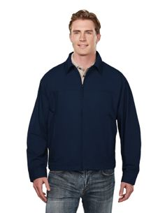 Peached Jacket With Poplin Lining (100% Cotton) Tri mountain 4000  #Trimountain #Menswear #men #jacket #toocool #cotton