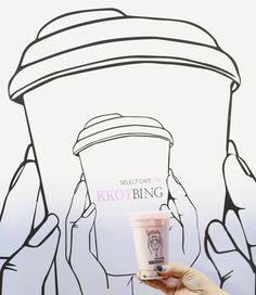 自由が丘にオープンの韓国🇰🇷カフェ SELECT CAFE KKOTBING  韓国式の雪花かき氷とタピオカドリンク、ホットクパンケーキが楽しめるcafe ランチはおしゃれな韓国デリのブッフェあり  @select_cafe_kkotbing #KKOTBING #SELECTCAFEKKOTBING #タピオカ #自由ヶ丘カフェ #かき氷  #コッピン #BINGSU #MILKTEA #COFFEE #BUFFET #DELI #cafe #カフェ #自由が丘 #韓国で人気  SELECT CAFE KKOTBING セレクトカフェコッピン 住所 東京都目黒区自由が丘1-26-3 自由が丘升本ビル 1F