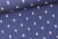 Weiteres - Jeansstoff - Pfeilspitzen - Blaulila - ein Designerstück von alles-fuer-selbermacher bei DaWanda