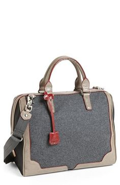 these colors! that grey! //M Z Wallace 'Tess' Satchel | Nordstrom