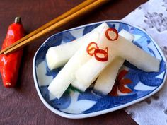 Addictive Sweet, Tangy, and Spicy Japanese Daikon Pickles (Tsukemono) | Judy Ung | Japanesefood.About.com