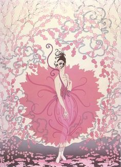Anything Erte literally takes my breath away and gives me the chills