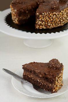 Cake recipe for ferrero rocher   Traces of Sweet Muffinomg yum!!