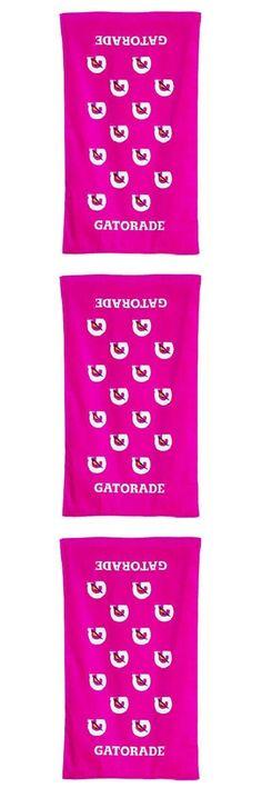 Pink Gatorade Towels September 2017