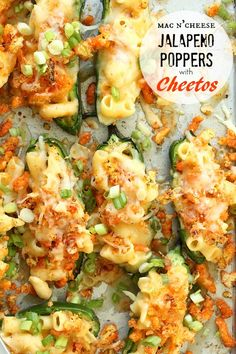 Jalapeno Poppers with Mac and Cheese Cheetos | Foodness Gracious