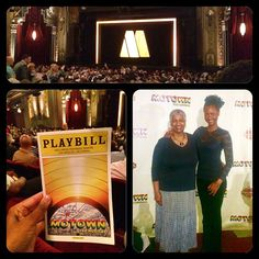 DATE NIGHT IDEA OF THE WEEK: Go to the #theatre with your #date ....my date for the evening, my #mom :) #datenightidea #la #losangeles #motown #pantages #musical #broadway #lategram #latergram #dating