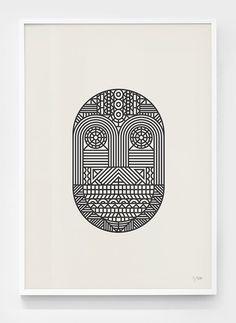 Think Work Observe: Mask / Snake / Surprise Prints