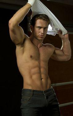 美国性感内裤男模Marine Shawn M.