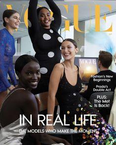 Bella Hadid, Vogue Magazine Covers, Vogue Covers, Kaia Gerber, Img Models, Vogue Magazine Subscription, Vogue Fashion, Fashion Photo, Fashion News