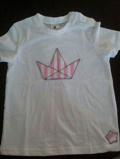 Camisetas originales, con lo que nos pidas. 18€/u. A partir de 2 a 15€/u. #camisetas #t-shirt #niños #barcos_de_papel #original