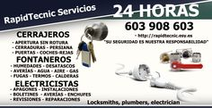 Cerrajeros Puzol 603 909 909 Fontaneros en Puzol, Comunidad Valenciana