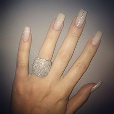 Glitter and Stones Nail Design! IN LOVE!!! - Khloe Kardashian official web site