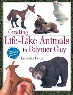 Creating Life-ike animals in Polymer Clae - Carla Anahi - Picasa Web Albums Clay Crafts For Kids, Kids Clay, Crafts For Teens To Make, Hand Crafts, Polymer Clay Sculptures, Polymer Clay Animals, Sculpture Clay, Sculpture Ideas, Pottery Sculpture