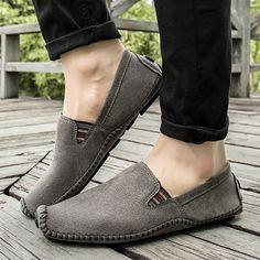 >> comprar aqui << Prelesty Marca Invierno de Los Hombres Calientes Verdadera Calidad de Los Hombres de Cuero del Ante Zapatos Casuales Comodidad Transpirable Antideslizante Zapatos Planos Ocasionales