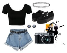 Day 67 by bedelevingne on Polyvore featuring moda, Superga, With Love From CA and Topshop