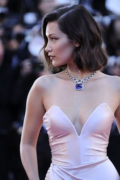Bella Hadid: Day 1 of Cannes 2017