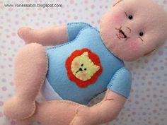 Vanessa Biali: Bebês feitos em Feltro