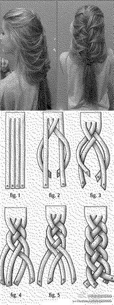 Hairy Styles: DIY Loose Braid Hairstyle