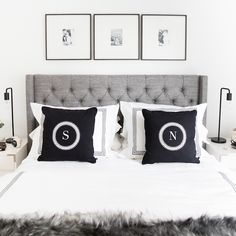 his and her bedroom