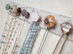 Jewelry Organizer with Spring Chic Knobs