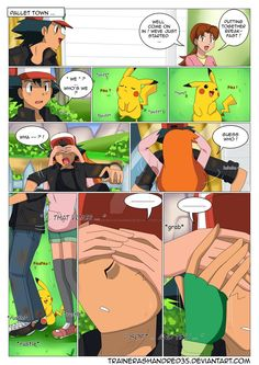 Hola Let me explain quickly the scene that I drawed: Misty and Ash have had one of their usual fights and then they turned their backs at ea. Gary Pokemon, Pokemon Ships, Pokemon Comics, Pokemon Memes, Pokemon Funny, Anime Comics, Pokemon Go, Pokemon Ash And Misty, Pokemon Ash And Serena