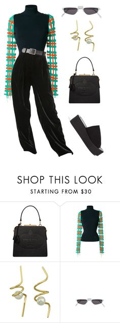 """Untitled #1937"" by lucyshenton ❤ liked on Polyvore featuring Prada, Esteban Cortazar and Andy Wolf"
