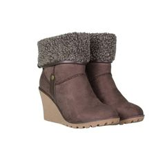 Faux Suede Wedge Ankle Boots Wedge Ankle Boots, Footwear, Wedges, Style Inspiration, Shopping, Collection, Shoes, Women, Fashion
