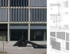 parasoles verticales metalicos para fachadas - Buscar con Google