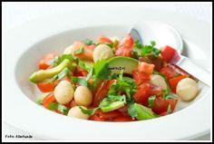 Avocado-salade met macadamianoten - Slank4u2